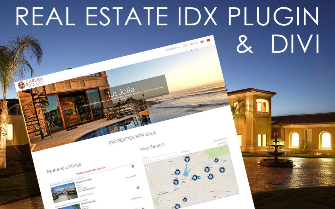 The Best Way to Integrate A Divi Site with MLS Listings for Realtors