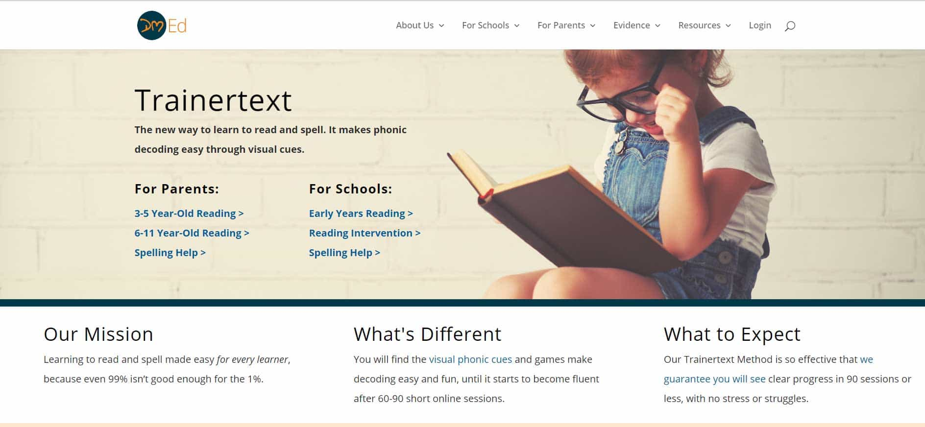 DM ED Oxford Learning System | Designed by Divi Dojo