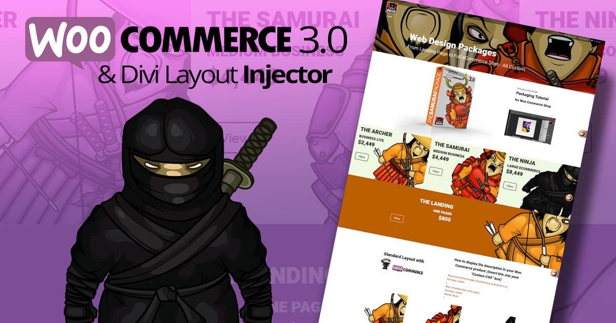 Woo Commerce 3.0 and Woo Layout Injector